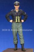 Alpine Miniatures[AM35272]1/35 WWII 独 ドイツ武装親衛隊 戦車搭乗員 士官