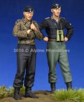 Alpine Miniatures[AM35274]1/35 WWII 独 ドイツSS武装親衛隊 戦車搭乗員セット(2体入り)
