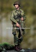 Alpine Miniatures[AM35275]1/35 WWII 米 第101空挺師団 士官