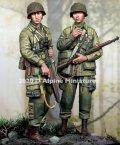 Alpine Miniatures[AM35277]1/35 WWII 米 第101空挺師団 兵士セット#2(2体入)