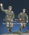 Alpine Miniatures[AM35289]1/35 WWII 独 武装SS擲弾兵 1944 2体セット