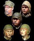 Alpine Miniatures[H020]1/35 WWII米 機甲部隊ヘッドセット(5個セット)