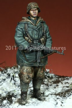 画像4: Alpine Miniatures[S0003]「冬季パトロール」武装親衛隊 4体セット(200セット限定)