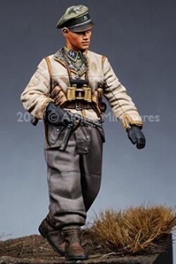 画像2: Alpine Miniatures[S0003]「冬季パトロール」武装親衛隊 4体セット(200セット限定)