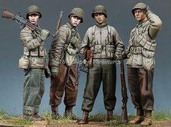 画像1: Alpine Miniatures[S0005]1/35 WWII米 ヒュルトゲンの森の戦い(4体セット)(限定200セット)