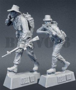画像2: Bravo6[B6-35034]1/35 ネイビーシールズ(2)とベトナム人シールズ(2体セット)