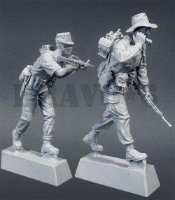 画像3: Bravo6[B6-35034]1/35 ネイビーシールズ(2)とベトナム人シールズ(2体セット)