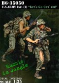 Bravo6[B6-35050]1/35 米 歩兵ベトナム(1)M16小銃兵(2体セット)