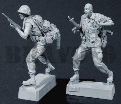 画像3: Bravo6[B6-35050]1/35 米 歩兵ベトナム(1)M16小銃兵(2体セット)