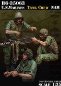 Bravo6[B6-35063]1/35 米 海兵隊戦車兵ベトナム(3体セット)