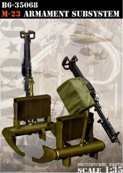 画像1: Bravo6[B6-35068]1/35 7.62mm M60機関銃 ヘリコプター搭載セット(M23)2丁セット)