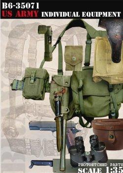 画像1: Bravo6[B6-35071]1/35 米軍歩兵個人装備セット ベトナム