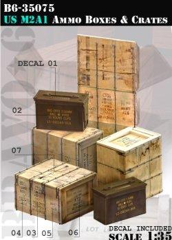 画像1: Bravo6[B6-35075]米 M2A1弾薬箱&木箱