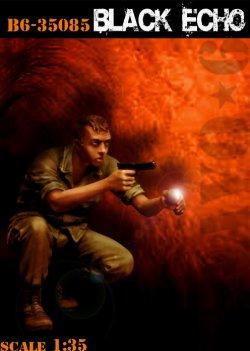 画像1: Bravo6[B6-35085]1/35 「ナイトホークス」(刑事ハリー・ボッシュ)(ベトナム戦争)