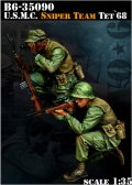 Bravo6[B6-35090]1/35 米海兵隊 狙撃手チーム テト攻勢'68(2体セット)