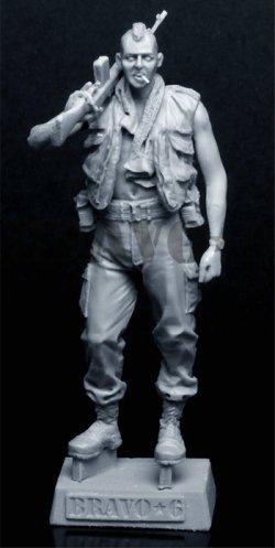 画像2: Bravo6[B6-35093]1/35 モヒカン米兵(ベトナム)