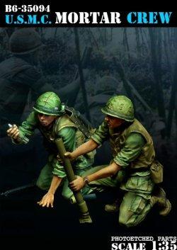 画像1: Bravo6[B6-35094]1/35 米海兵隊 M19迫撃砲チーム(2体セット)