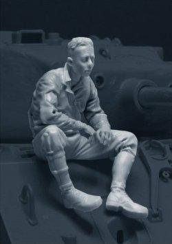画像2: Bravo6[B6-35108]1/35 米戦車指揮官1944-45 イージーエイト搭乗(1)