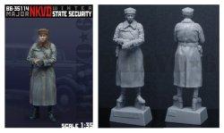 画像2: Bravo6[B6-35114]1/35  WWII露 NKVD少佐(冬装)