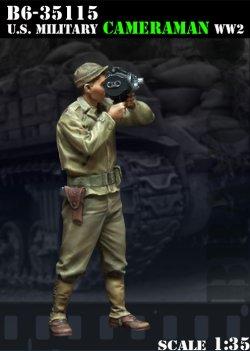 画像1: Bravo6[B6-35115]1/35  WWII米 カメラマン