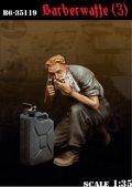 Bravo6[B6-35119]1/35 WWII独 戦場の理容(3) 髭を剃る戦車兵