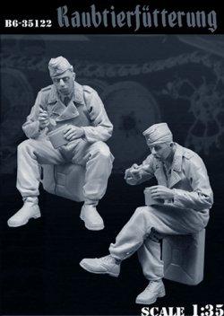 画像3: Bravo6[B6-35122]1/35 WWII独 食事中のドイツ戦車兵(2体セット)