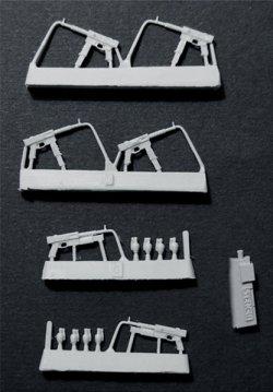 画像2: Bravo6[B6-35204]1/35 仏MAT-69 短機関銃(6個)&手榴弾セット