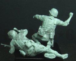 画像3: Bravo6[B6-35300]1/35 米 歩兵ベトナム(11)手榴弾投擲(2体セット)