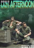 Bravo6[B6-35312]1/35 ベトナム戦争 米陸軍「気だるい午後」US米戦車兵休息セット(2)