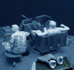 画像3: Bravo6[B6-35312]1/35 ベトナム戦争 米陸軍「気だるい午後」US米戦車兵休息セット(2)