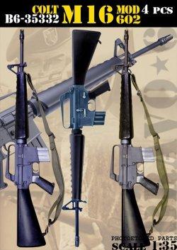 画像1: Bravo6[B6-35332]1/35 ベトナム戦争/現用 米空軍 M16モデル602アサルトライフル