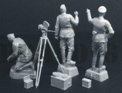 画像3: Bravo6[B6-35131]1/35 WWII 独 ドイツ陸軍宣伝中隊「撮影準備を開始せよ」