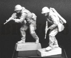 画像3: Bravo6[B6-35307]1/35 ベトナム戦争 米 米海兵隊 USMC「間近だぞ!」(3)
