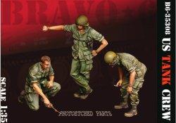 画像1: Bravo6[B6-35308]1/35 ベトナム戦争 米陸軍「打合せ中」US戦車乗組員セット