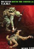 Bravo6[B6-35310]1/35 ベトナム戦争 米海兵隊「曲がり角の先に」(4) 武装解除する海兵隊員