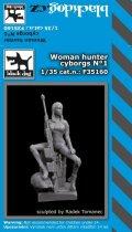 BLACK DOG[F35160]1/35 女性サイボーグ傭兵#1