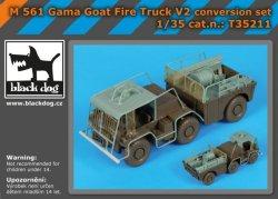 画像1: BLACK DOG[T35211]1/35 M561ガマゴート消防車V2 改造セット