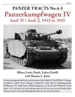 画像1: [PANZER_TRACTS_4-3]IV号戦車H型,J型 1943-1945