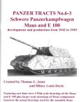 [PANZER_TRACTS_6-3]WWII 独 超重戦車マウス&E100[再販本]
