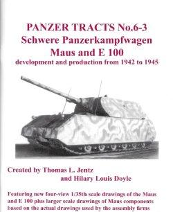 画像1: [PANZER_TRACTS_6-3]WWII 独 超重戦車マウス&E100[再販本]