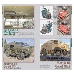 画像2: WWP [R079] WWII 連合軍砲兵牽引トラクター(FAT)ディティール写真集