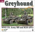 WWP [R088]WWII 米 M8/M20/グレイハウンド装甲車