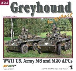 画像1: WWP [R088]WWII 米 M8/M20/グレイハウンド装甲車