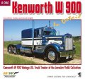 WWP [R080]ケンワースW900 ヴィンテージトラック ディティール写真集