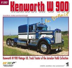 画像1: WWP [R080]ケンワースW900 ヴィンテージトラック ディティール写真集