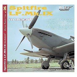 画像1: WWP [R026] 航)WWII英 スピットファイア LF.Mk.IX  ディティール写真集