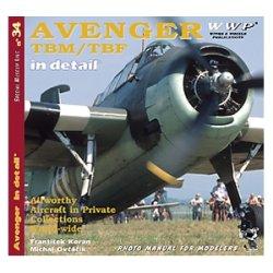 画像1: WWP [R034] 航)WWII米 TBM/TBF アベンジャー  ディティール写真集