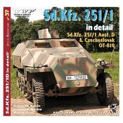 画像1: WWP [R037] WWII独 Sd.Kfz.251装甲兵員輸送車  ディティール写真集