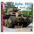 WWP [R038] WWII独 38(t)戦車A-D型  ディティール写真集