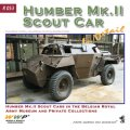 WWP [R053] WWII英 ハンバースカウトカー  ディティール写真集